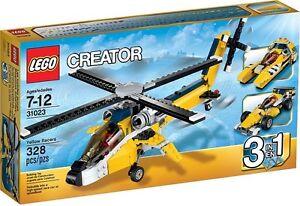 LEGO-Creator-3-in-1-Yellow-Racers-31023