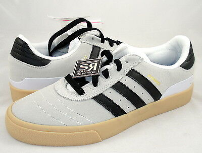 New 6.5 adidas Originals Men Busenitz Vulc Shoes Gray White Black Gum Skate   eBay