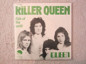 Single-QUEEN-KILLER-QUEEN-TOP-RARITAT-1974-MINT