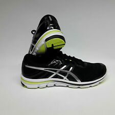 Asics Gel-Electro 33 Men black/lightning/flashyellow Herren Laufschuhe 13 / 49