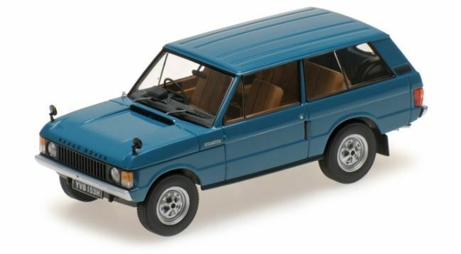 ALMOST REAL 410101, 1970 RANGE ROVER, blueE, 1 43 SCALE