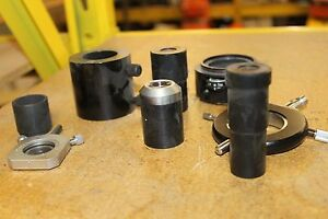 LOT-OF-8-MICROSCOPE-PARTS-ZEISS