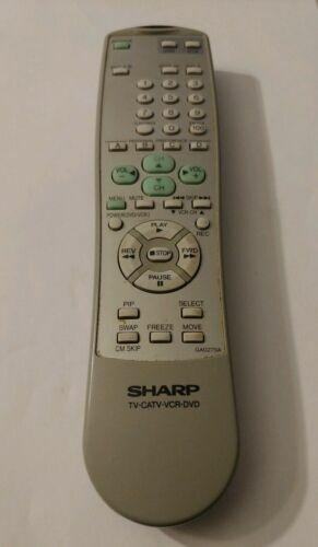 Original Sharp GA027SA TV Remote Control for sale online   eBay