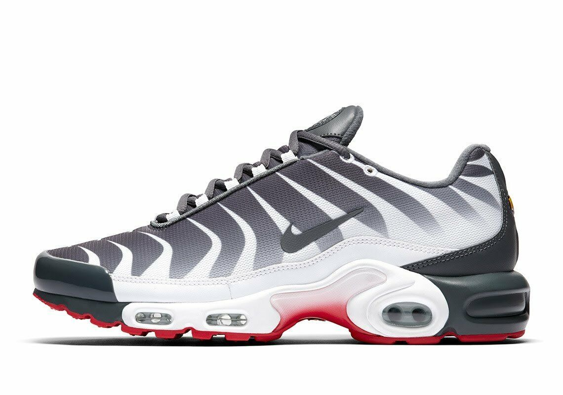 Nike Air Max Plus TN Tuned After The Bite White Dark Grey Speed Red AQ0237-100