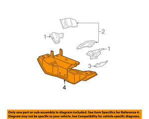 image is loading ford-oem-99-00-mustang-engine-motor-mount-