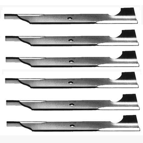 """6 Repl Lawn Mower Blades Hi Lift for Ferris 5101986 Snapper Simplicity 48/"""" Cut"""