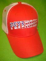 Peterbilt Hat: Stars & Stripes / Summer Mesh Back / Free Shipping In Usa