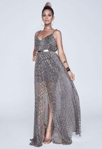 10 Ref Maxi Alesha Taglia C5772 Grecian Dixon Sheer Dress 4OvWwWYP1q