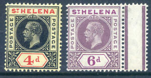 St-Helena-1913-George-5th-4d-and-6d-SG-85-6-fine-mint-2019-06-10-12