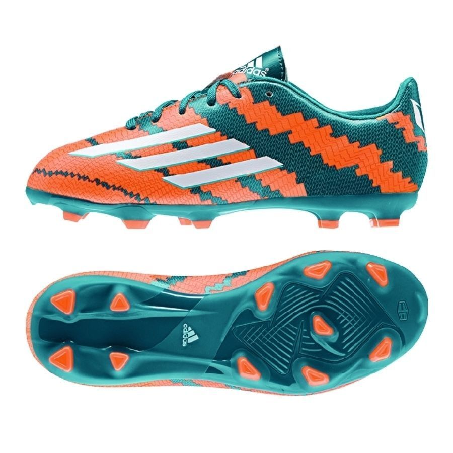 273f8f079 ADIDAS MESSI F10.3 FG FIRM GROUND GROUND GROUND YOUTH SOCCER SHOES Power  Teal Core White 23fc9c