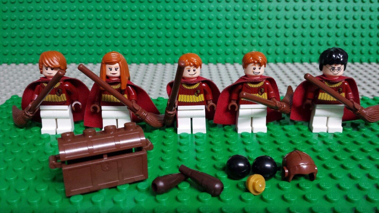 LEGO HARRY POTTER 4737 QUIDDITCH MATCH Gryffindor MINIFIGURES Genuine Lego
