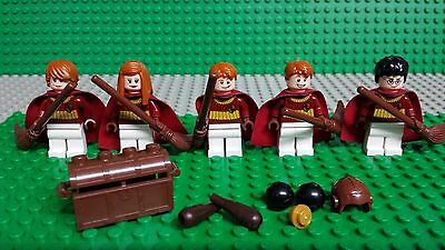 Genuine Lego Harry Potter Gryffindor Uniforme De Quidditch Minifigura Nuevo hp138