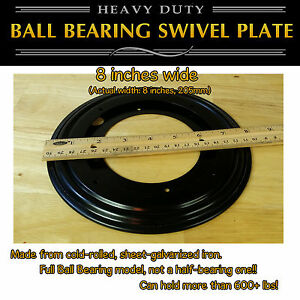 1-pc-8-inch-205mm-Full-Ball-Bearing-Swivel-Plate-Lazy-Susan-Turntable