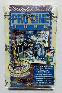 1996-PRO-LINE-17th-National-Football-card-boxes-Factory-Sealed-SCARCE