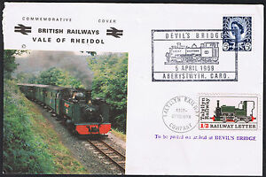British Railways Vale of Rheidol Devil039s Bridge Talyllyn Railway stamp 1969 - Belper, United Kingdom - British Railways Vale of Rheidol Devil039s Bridge Talyllyn Railway stamp 1969 - Belper, United Kingdom