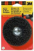"""3M Paint and rust stripper large area 4"""" scotch brite wheel attaches to drill Tools and Accessories"""
