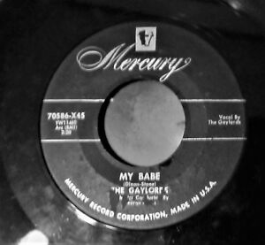 VOCAL-GROUP-version-of-MY-BABE-the-Little-Walter-hit-by-THE-GAYLORDS-Mercury