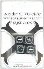 Fudge Dice White Spiele 4