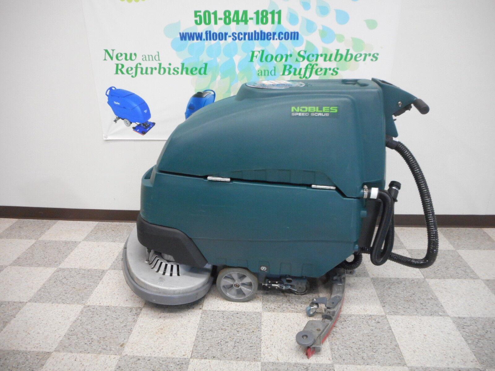 Nobles Ss Speed Scrub Floor Scrubber EBay - Floor scrubers