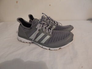 low priced 0ddd7 21ae4 Image is loading Mens-tennis-shoes-size-9-ADIDAS-CLIMACOOL-Grey-