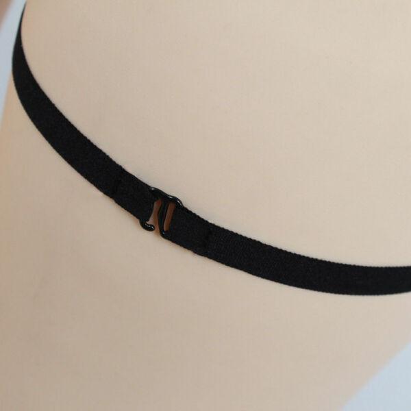 sexy Riemchen Strapsgürtel schwarz Dessous sexy Strapse club Harness Bänder