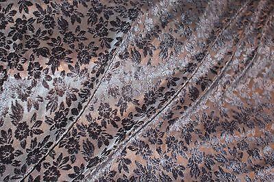 "blend £7.95//m 1.35m//53"" wide floral Printed linen dress fabric floral design"