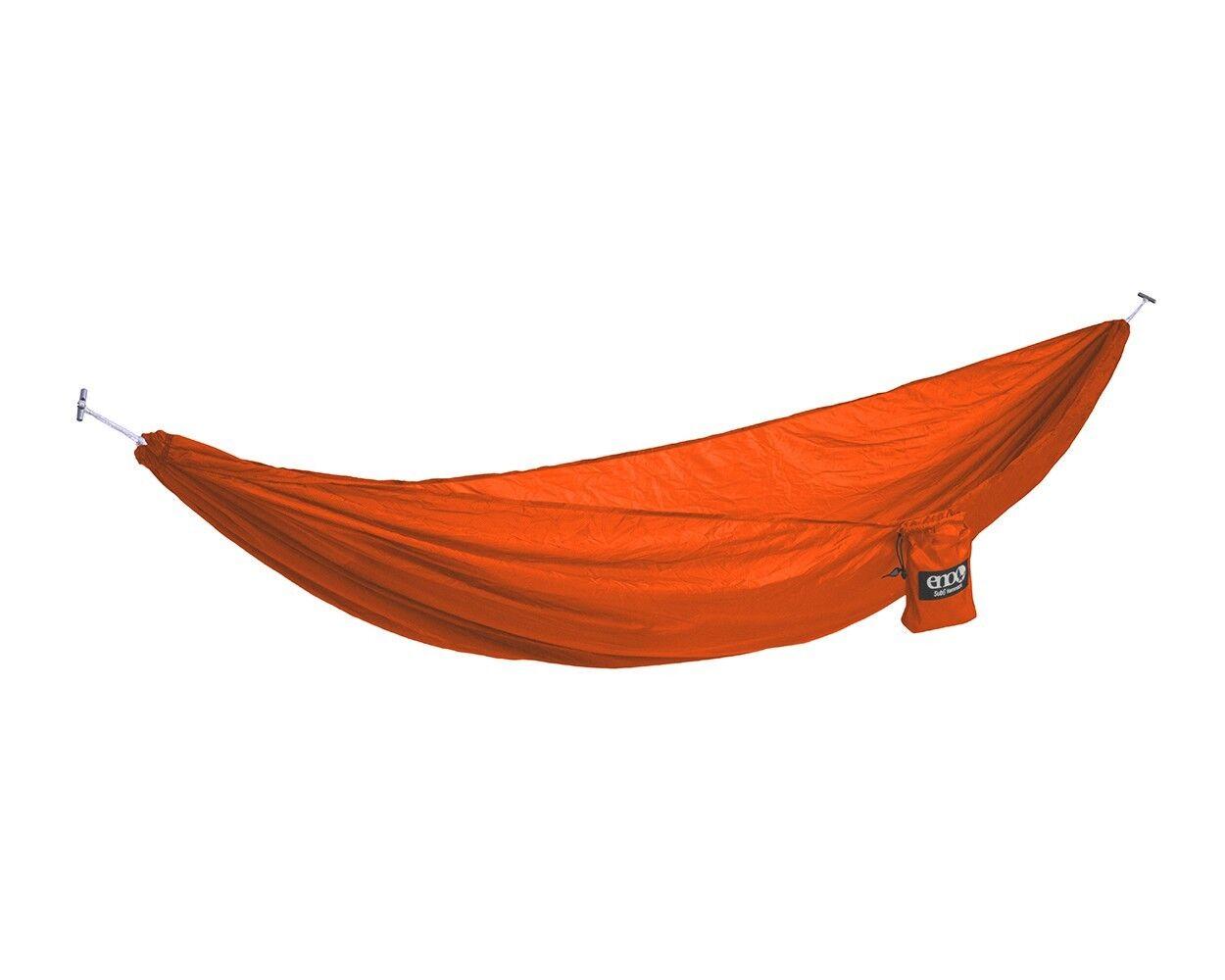 ENO Eagles Nest Outfitters SUB6 Ultralight AmacaSingolo Arancione