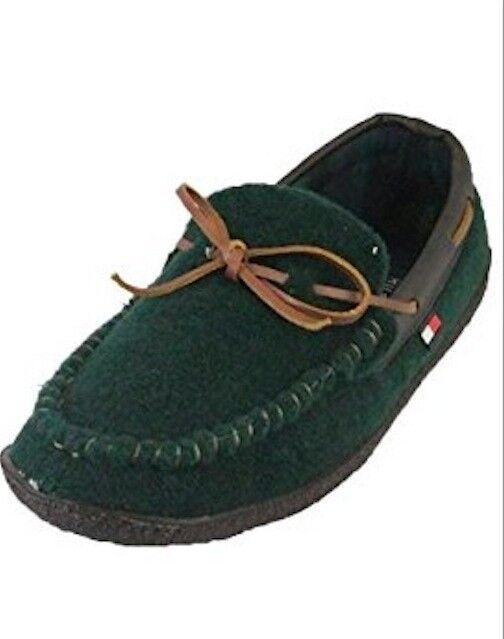 686ceaed72f4 Tommy Hilfiger Men s Bridge-t Dark Green Indoor  Outdoor Slippers Moccasins  10 for sale online