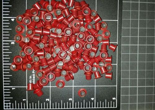1//4 kydex eyelets rivets blood red 8-8 24 pieces.
