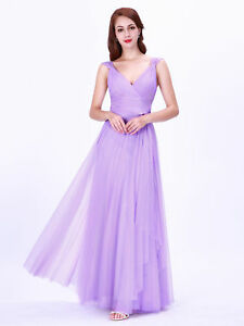 Christmas Ball Dresses Uk.Details About Uk Ever Pretty Christmas V Neck Long Evening Party Dresses Mesh Prom Ball Gowns