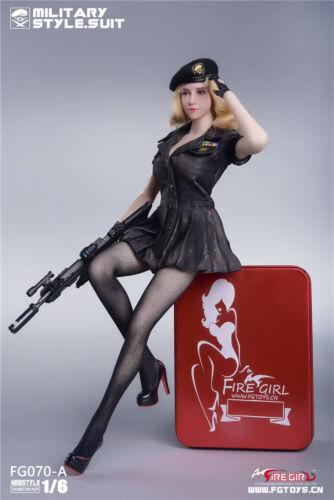 Ragazza di Fuoco Toys 1//6 FG070-A SOLDATI ESERCITO AMERICANO Donna Stile Senza Cuciture Collant Set