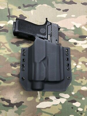 Black Kydex Light Bearing Holster SIG P250 Compact Streamlight TLR-1s TLR1