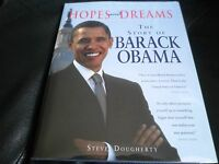 President Barack Obama Signed - Hopes And Dreams - First Hardcover Edition