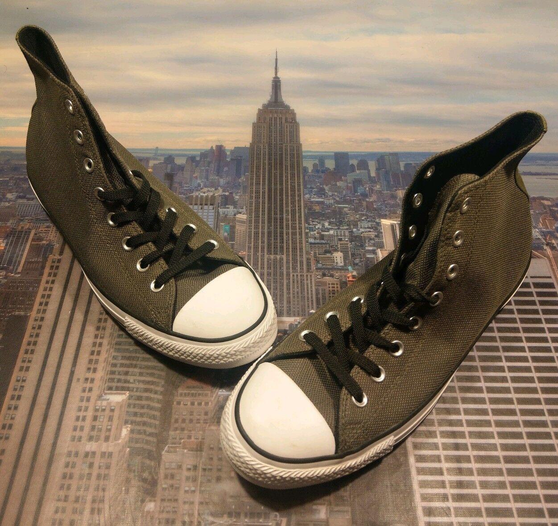 Converse Chuck Taylor All Star Hi High Top Basket Knit Olive Talla 10.5 157440F