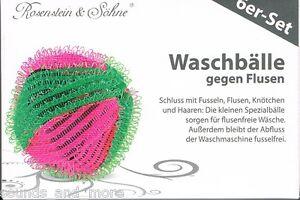 6 waschb lle gegen flusen fusseln f r die waschmaschine neu ovp ebay. Black Bedroom Furniture Sets. Home Design Ideas