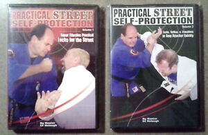 NEW-Practical-Street-Self-Protection-DVD-Choose-Volume-Ed-Melaugh-Wally-Jay