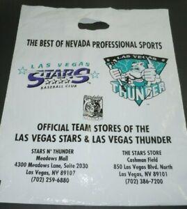 Mandalay-Sports-Entertainment-Retail-Bag-Las-Vegas-Thunder-Stars-Baseball-Hockey