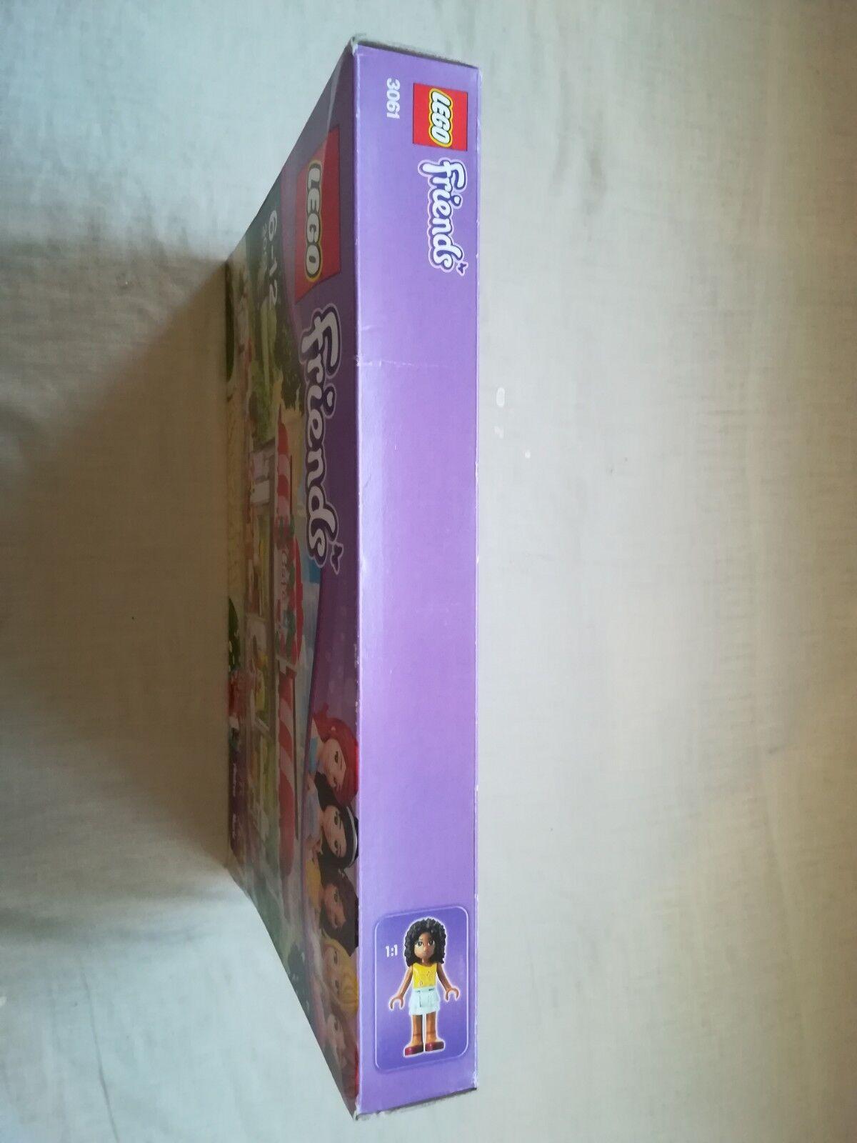 LEGO FRIENDS 3061 City Park CAFE-NEUF Scellé avec shelfwear shelfwear shelfwear 63a00d