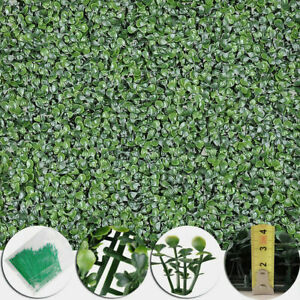 12x-Artificial-Boxwood-Mat-Wall-Hedge-Decor-Privacy-Fence-Panel-Grass-20-034-x20-034