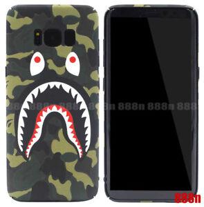 sports shoes c1a11 d566d Details about A Bathing Ape Bape Shark Case For SAMSUNG Galaxy S10 S10+ S9  S8+ S7 Edge Note 9