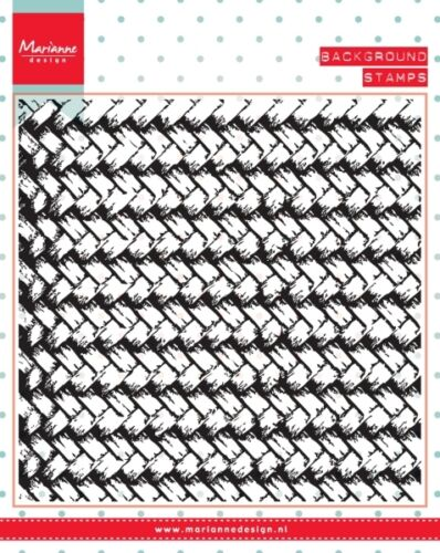 MARIANNE DESIGN Clear Stamps BAMBOO BACKGROUND CS0953 130mm x 130mm