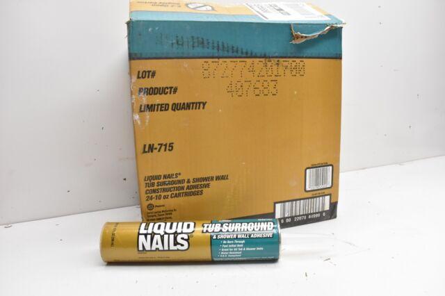 Liquid Nails10oz Tub Surround & Shower Wall Adhesive Ln-715 for sale ...