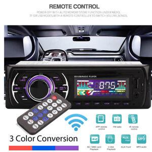 Car-Stereo-Audio-In-dash-FM-AUX-Input-Receiver-Sd-usb-mp3-Radio-Player