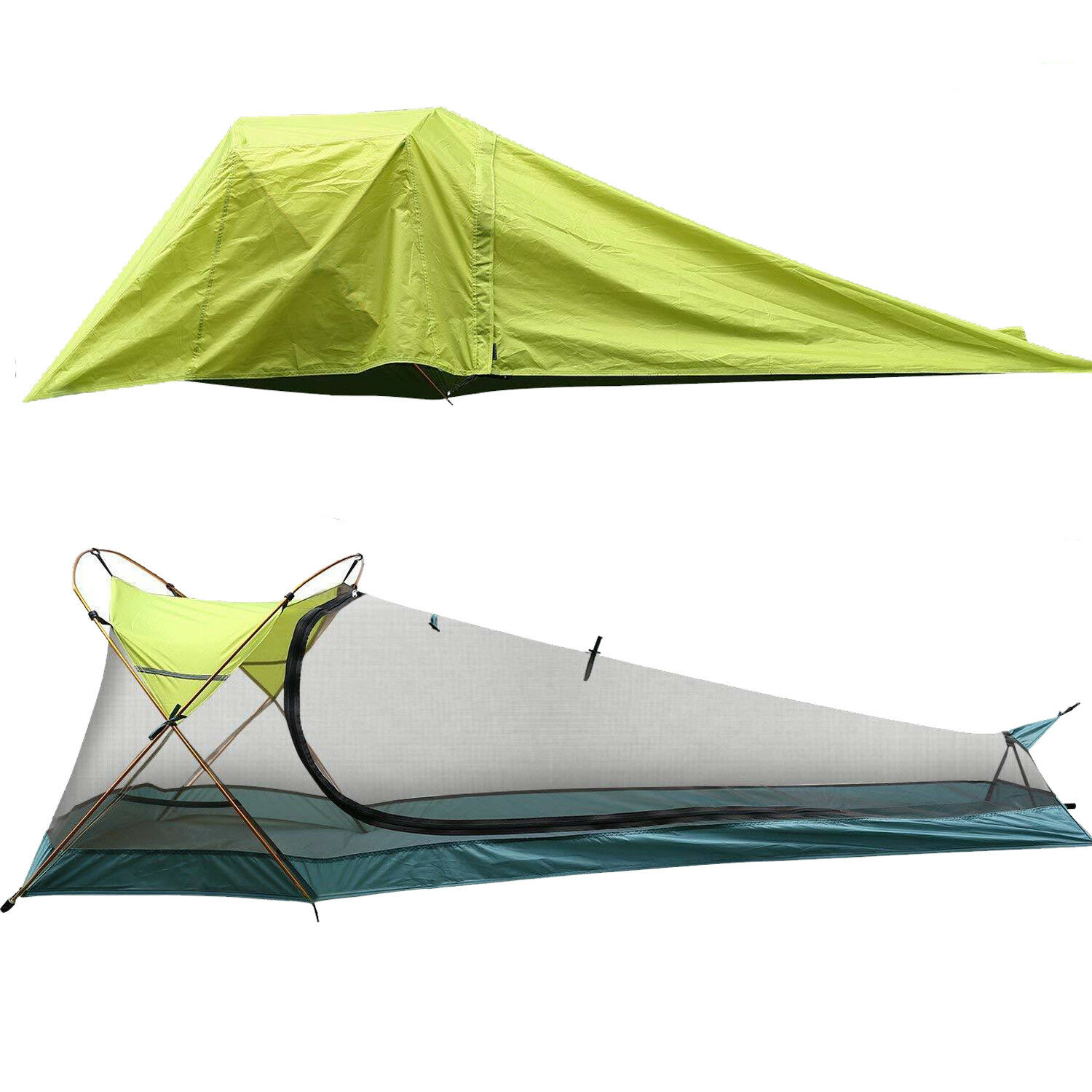 Rhino Vall Single Person Hiking Tents Sun Shelter Oudoor Ultralight Camping Tent