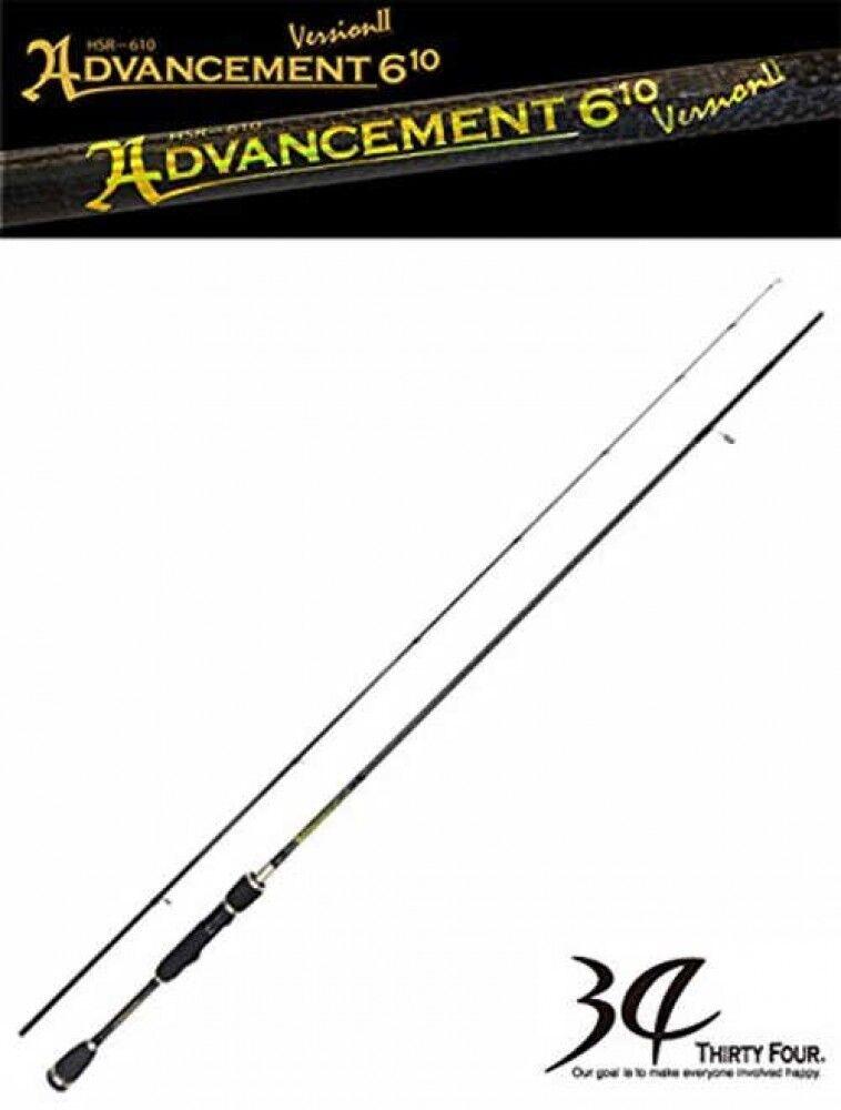 Thirty 34 Quattro Canna Pesca Avanzamento Hsr610 Ver.2 1.9m Nave Veloce Japan