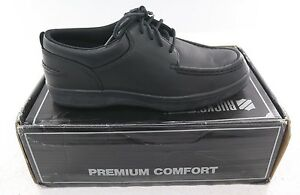 New Women's Rucks Premium Comfort W4415 Steel Toe Shoe - Black