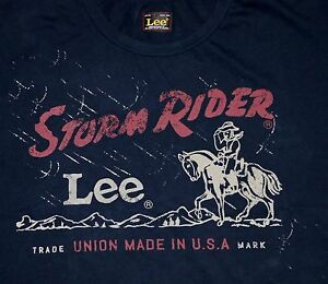 6e511bde6521 New Lee 101 Storm Rider T-shirt Made in USA All Men's Sizes Free ...