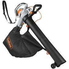 VonHaus 3000W 3-in-1 Leaf Blower - Blows, Vacuums and Mulches Leaves - 45 Litre
