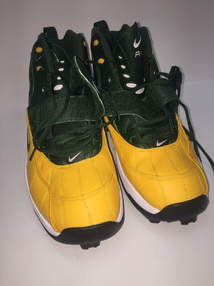 bb9155dee ... NIKE AIR FORM ZM ZOOM HI-TOPS Football Cleats SIZE SIZE SIZE 16 Sport  Play ...