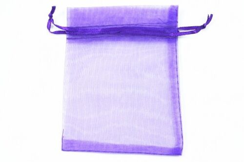 5X7cm Luxury Organza Gift Bags Wedding Party Favour Jewellery Packing Pouches